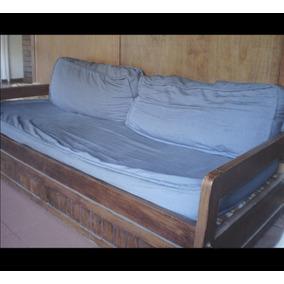 Fundas rayadas para sillones almohadones en mercado for Sillon cama usado