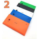 2 Tampas Traseira Nokia Lumia 730 735 Tampa Bateria Rm-1040