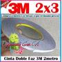 Cinta 3m Doble Faz 3 Metros Telefonos Móvil Mica Táctil