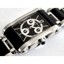 Smart Xmas! Reloj Valentino Mens Black Bracelet Chronograph