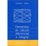 Sadosky Elementos De Càlculo Diferencial È Integral