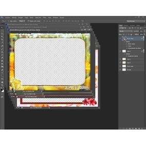 Frames Boda Xv Comunion Bautizo Casuales Photoshop Marcos