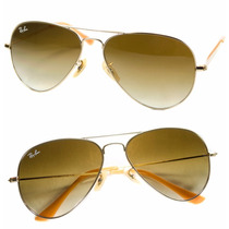 Gafas De Sol Ray-ban Aviador Rb3025 112/85 58mm Originales