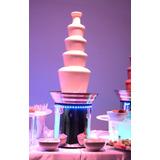 Cascada Profesional De Chocolate, 93cm 5 Niveles Gtia 1año