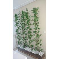 Planta Artificial, Bambu Reto Áurea 2metros.decoracão,beleza