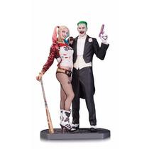 Suicide Squad Joker And Harley Quinn Estatuilla Dc