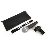 Microfono Vocal Shure Sm58 Completo Original 100% Garantia