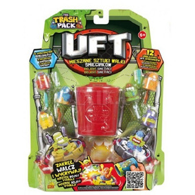 Trash Pack Uft - 12 Personagens
