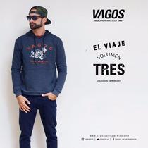 Sweater Vagos Con Capucha Y Estampado