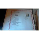 Hoja Filatelica Centenario Del Diario El Dia La Plata+sello