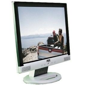 Monitor Lcd 15 Aoc Lm522 Com Som - Com Manchas E Riscos