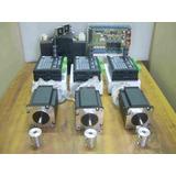 Kit Electronica Cnc 3 Ejes Con Motores Nema 24 De 30.5kg.cm