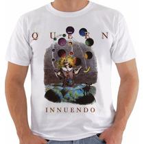 Camiseta Baby Look Queen Innuendo Freddie Mercury Brian May