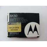 Bateria Original Bx50 P/ Celular Motorola Zn5 Frete Grátis