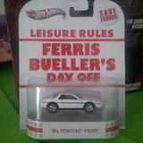 Hot Wheels 84 Pontiac Fiero, Clasico