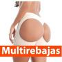 Short Faja Con Latex En Abdomen Levantagluteos Hasta 4 Cm,