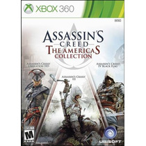 Assassins Creed 3 + 4 + Liberation Americas Collect Xbox 360
