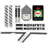 Adesivos Monark Monareta 1977 Completo - Junior_sbs