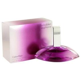Calvin Klein Forbidden Euphoria (50ml) - Perfumes no Mercado Livre ... 2795737227