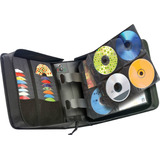 Maleta Porta Cd Marca Case Logic Con 300 Peliculas Dvd