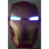 Mascaras Luminosas De Superheroes Iron Man