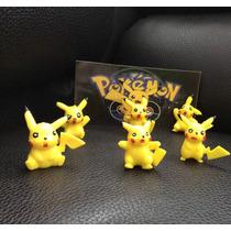 Pokemon Pikachu Maqueta 6pz