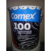 Cubeta De Pintura Comex 100. Esmalte (aceite)