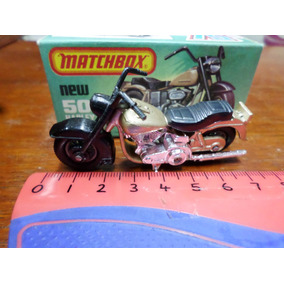 Matchbox N°50 Moto Harley Davidson Made In England