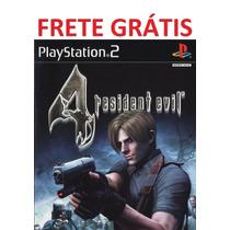 Resident Evil 4 Ps 2 Game - Frete Grátis