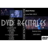 Dvd Abel Pintos - Luna Park 2013