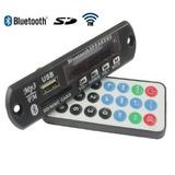 Placa Amplificador - Leitor De Usb Bluetooth - Fm - Contole