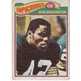 1977 Topps Mexican John Brockington Empacadores De Green Bay