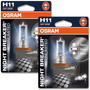 Lampara H11 Osram Night Breaker Unlimited 12v 55w Germany