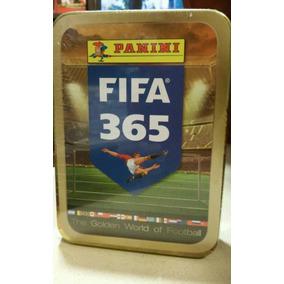 Limited Editon Lata Dourada +15 Envelope Figurinha Fifa 365
