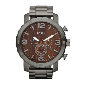 Relogio Fossil Masculino Social Cinza Caixa 5.3 - Fjr1355z