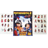 Patoruzito 2 Sticker Album + 2 Planchas Para Pegar Nuevo