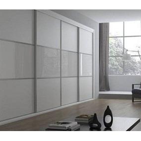 Divisor Division Ambiente Vidrio Melamina Aluminio