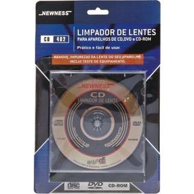Limpador De Lentes - Cd/dvd E Cd-rom