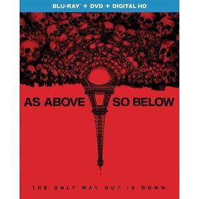 Blu-ray Assim Na Terra Como No Inferno (import) Lacrado