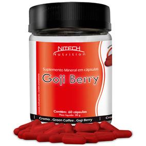 Goji Berry + Cromo + Café Verde - Goji Berry 60 Caps