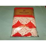 Juego Toalla Y Toallón Con Puntilla Crochet Artesanal