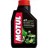 Kit C/3 Óleo Motor Motul 5100 15w50 Moto 4t 1l Semi-sintétic