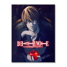 Dvds- Death Note- Anime - Completo 37 Episódios- Com Brinde