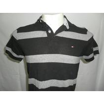 Camisa Polo Tommy Hilfiger 100% Original Pequeno Consulte
