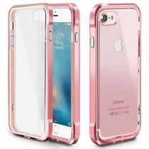 Estuche Iphone 7 Desmontable Marco Metálico Serie Pc Minimal
