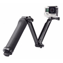 3 Way Monopod Para Go Pro Sjcam Action Camera Tripie Selife