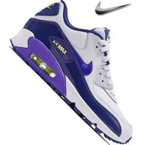 Preciosos Nike Air Max 90 Morados Piel Boutiquerenew