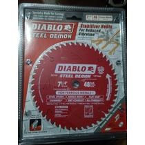 Disco Diablo Para Cortar Metal De 7¼ Con Buje 5/8