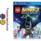 Lego Batman 3 Beyond Gotham Psvita Ps Vita Nuevos Sellados