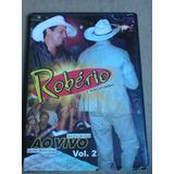 Dvd Robério E Seus Teclados Ao Vivo Vol. 2 Raro